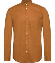 liam ba shirt 6971 overhemd casual bruin samsøe samsøe