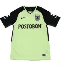camiseta nike de atletico nacional visitante 2018 - verde