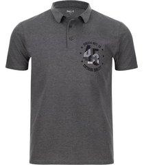 polo superior quality color gris, talla l