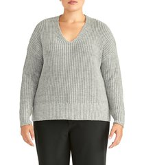 plus size women's rachel roy collection chunky pullover