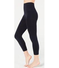 spanx women's cropped printed seamless leggings