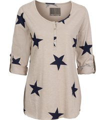 maglia a stelle (beige) - rainbow