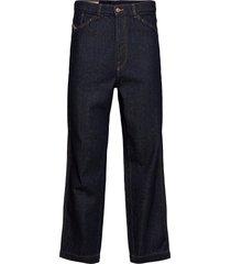 d-franky l.34 trousers jeans relaxed blauw diesel men