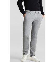pantalón hombre chino gris claro esprit