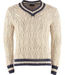 drumohr cotton linen blend pullover