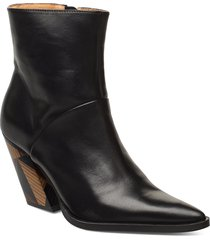 escape from reality shoes boots ankle boots ankle boots with heel zwart anny nord