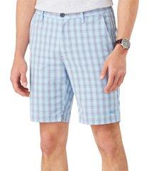 "tommy bahama men's bahama driver islandzone moisture-wicking performance stretch plaid 10"" shorts"
