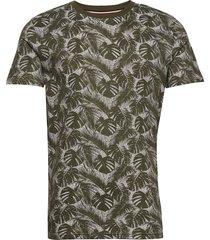 aop tee t-shirts short-sleeved grön lindbergh