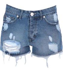 revise denim shorts