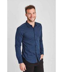 camisa  azul panther moda parís