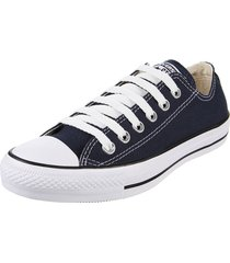 zapatilla azul converse chuck taylor all star core ox