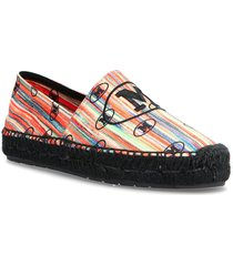 m missoni-espadrillas sandaletter expadrilles låga svart m missoni