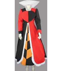 alice in the wonderland queen of hearts cosplay costume halloween fancy dress