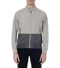 colmar light beige and grey bomber jacket