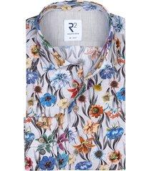 r2 overhemd bloemenprint