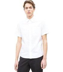 overhemd korte mouw calvin klein jeans j30j311111