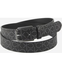 calvin klein belt with all-over logo print