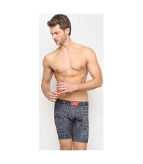 cueca boxer kevland long leg maori all black