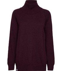 lumi knit turtleneck coltrui rood makia