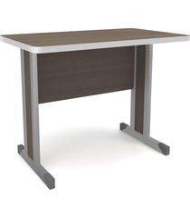 mesa escrivaninha 1 metro office versátil 1100 teca itália - kappesberg