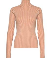 ebo knit turtleneck polotröja orange holzweiler