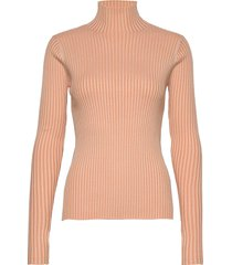 ebo knit turtleneck polotröja orange holzweiler