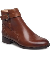 netley olivia shoes boots ankle boots ankle boots flat heel brun clarks