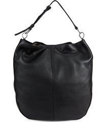 aisha leather hobo bag