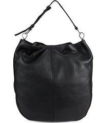 aisha leather hobo bag