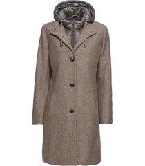 cappotto corto in misto lana 2 in 1 (marrone) - john baner jeanswear