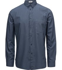 m. peter washed poplin shirt overhemd business blauw filippa k