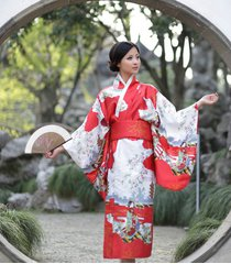 new japanese yukata kimono obi cosplay robe geisha dress sleepwear