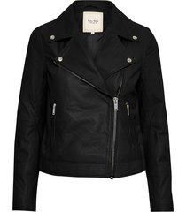 elaia leather jacket