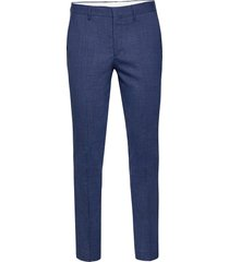 slhslim-oasis blue trs b kostuumbroek formele broek blauw selected homme
