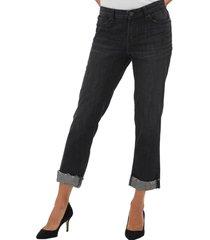 jeans boyfriend washed black azul gap