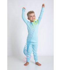 pijamas acuo pijamas azul