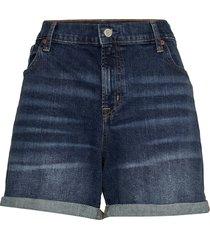 5 mid rise denim shorts shorts denim shorts blå gap