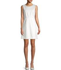 classic sleeveless a-line dress