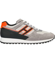 scarpe sneakers uomo camoscio h383