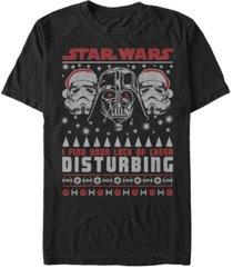 fifth sun men's star wars darth vaderlack of cheer christmas short sleeve t-shirt