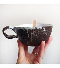 kubek-świeca sojowa 150ml kokosek