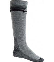 calcetin de ski m emblem mdwt socks gris hombre burton