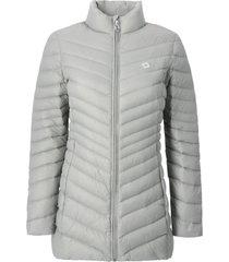abrigo mujer alaia gris doite