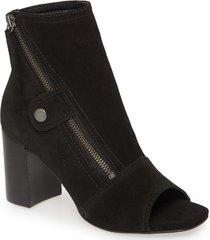 women's matisse lyon open toe bootie, size 8 m - black