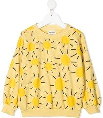 bobo choses graphic-print organic cotton sweatshirt