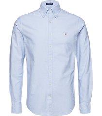 slim oxford shirt bd overhemd business blauw gant