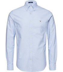 slim oxford shirt bd overhemd business blauw gant
