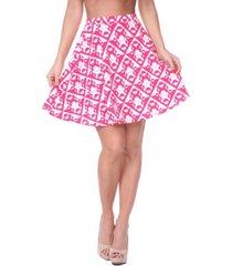 white mark women's heidi skirt