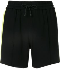 kenzo crepe shorts - black