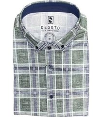 desoto shirt korte mouwen groen